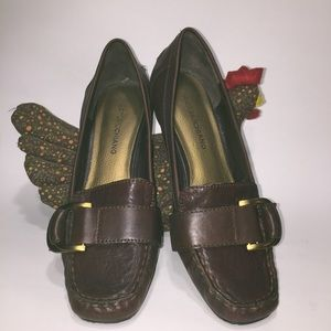 🌵Arturo Chiang Loafer Dark Brown Leather 7.5M